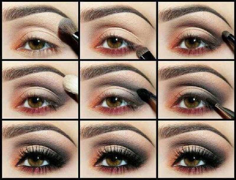 Как красиво накрасить глубоко посаженные глаза