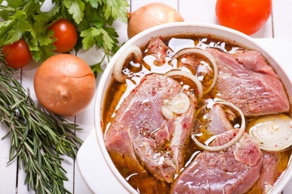 Как сделать маринад для шашлыка из уксуса для свинины