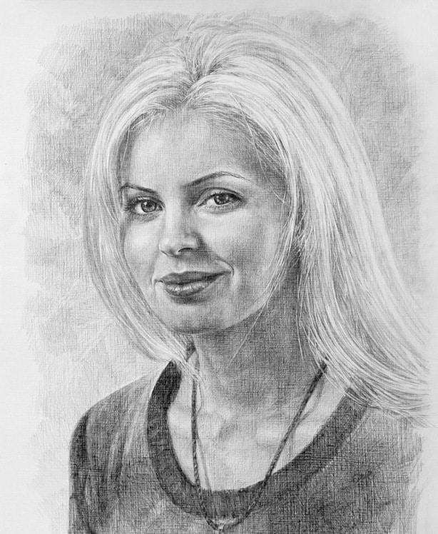 Портреты людей рисовать