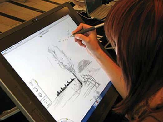 Как я рисую на планшете