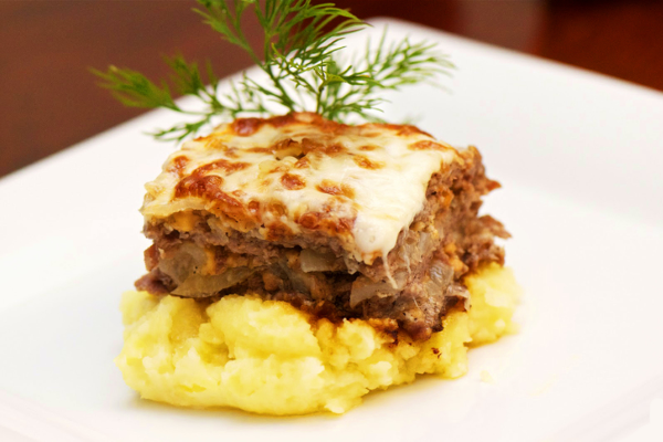 Мясо по-французски свинина картофель
