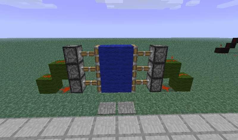Как сделать в minecraft дверь фото 715