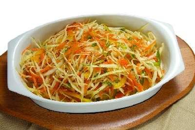 Витаминный салат и его рецепт дома