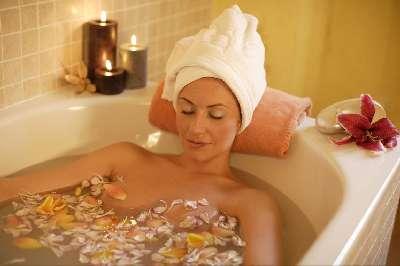 Прием ванны во время беременности