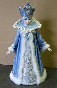Как сделать костюм снежной королевы