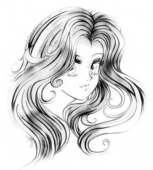 Как рисовать аниме поэтапно карандашом для начинающих картинки