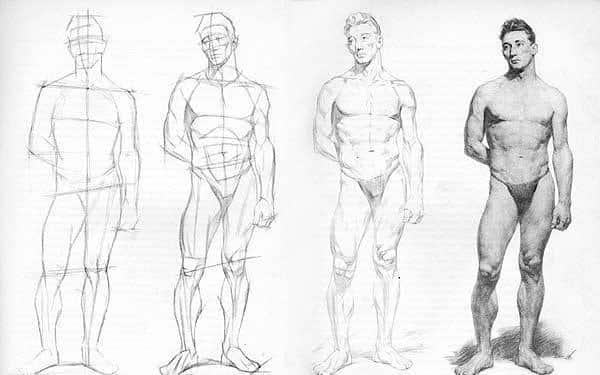 Как научиться рисовать человека с нуля