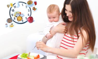 Еда для кормящих мам
