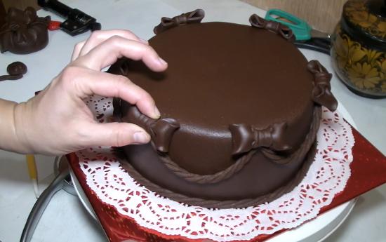 Рецепт шоколадной мастики