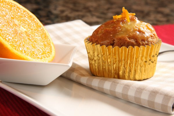 Кексы с апельсинами рецепт с фото