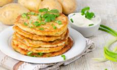 Классический рецепт картофельных драников
