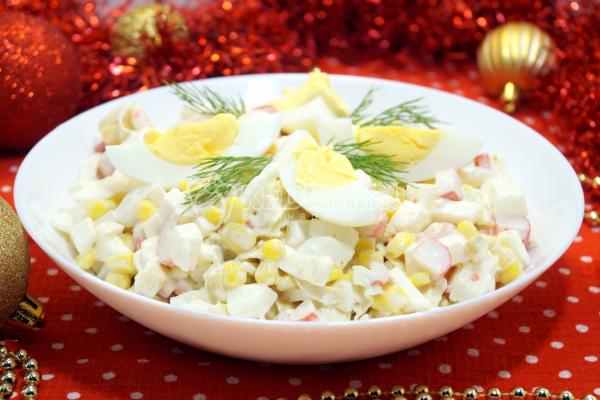 Салат снежок рецепт с фото