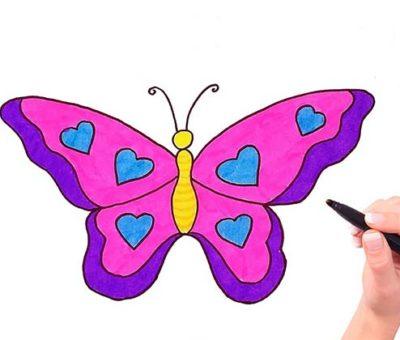Рисуем бабочку